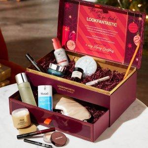 变相23折!€105收价值超€450礼包终于来了:LOOKFANTASTIC 全新美妆箱子  11件全明星正装!
