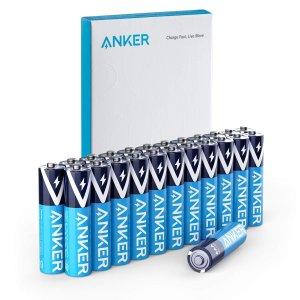 $5.39Anker 长效防漏碱性AAA电池 24枚装