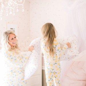 4折起+新用户额外8折Hanna Andersson 儿童有机棉睡衣促销 适合皮肤敏感孩子