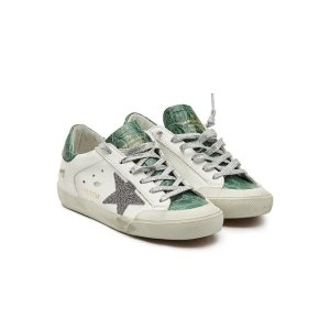 GOLDEN GOOSE水晶星星拼色小脏鞋