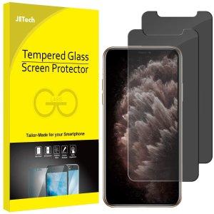 $11.87(原价$13.97)JETech iPhone 11 Pro 防摔防偷窥保护膜