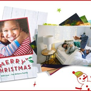 额外5折CVS Photo 全场照片打印、定制礼物等节日促销