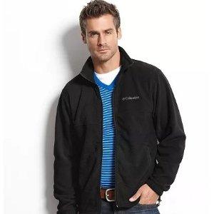 $24.99起 男女款式都有Columbia 实用外套专场,抓绒外套多色选$29.99