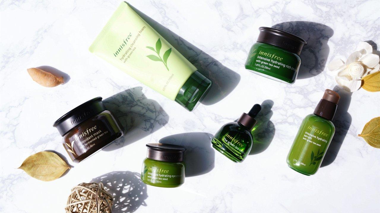 innisfree綠茶系列 | 抗氧化+保湿,给肌肤来杯养肤茶!