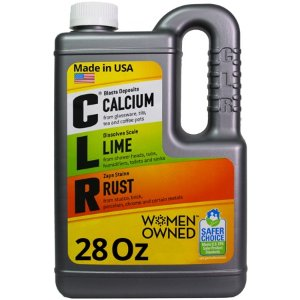 CLR Calcium Lime & Rust Remover, Biodegradable, 28 Oz Bottle