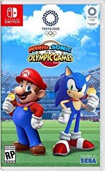 马里奥 索尼克 东京奥运会 Nintendo 实体版