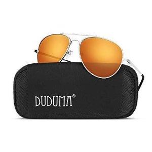 Duduma Premium Full Mirrored Aviator Sunglasses