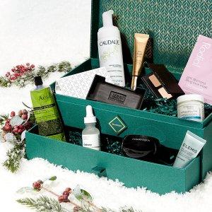 skinstore价值$280,送礼必备Evergreen 超值圣诞礼盒