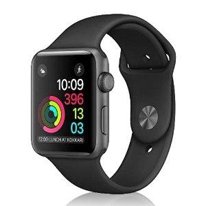 43折 可升级加充电器Apple Watch二代翻新手表 天空灰折扣热卖 £129起