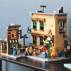 Lego123 芝麻街 21324   Ideas系列