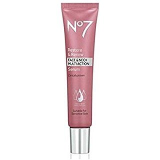 No7 Restore & Renew Face & Neck MULTI ACTION Serum 30ml @ Amazon.com