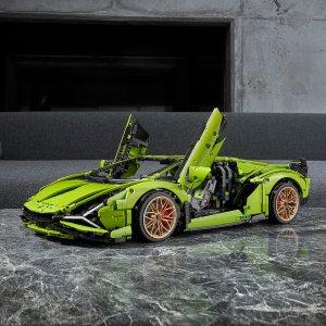 封面款现价£238.99(原价£349.99)史低价:LEGO 兰博基尼全网最低价 今年旗舰版跑车