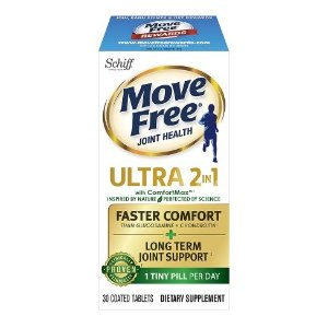 BOGO + $3 off coupon + $10 off $100Select Schiff Move Free products @ Walgreens
