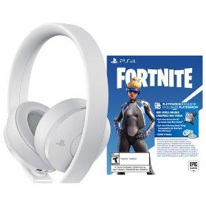PS4 耳机 白