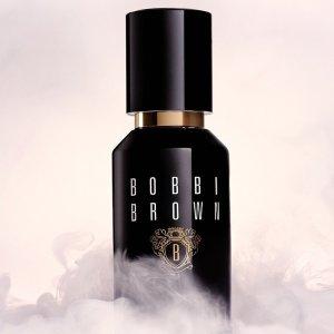 下单送妆前中样+满额送礼包上新:Bobbi Brown 虫草粉底液全新升级,拥有精致水光肌