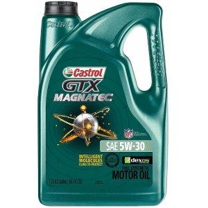 $15Castrol 03060 GTX Magnatec 5W-30 Motor Oil - 5 Quart