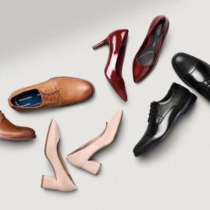 低至3折起+额外75折超后一天:Rockport 乐步男女鞋履农历新年特卖, 史上超舒适,可以穿上跑的白宫鞋
