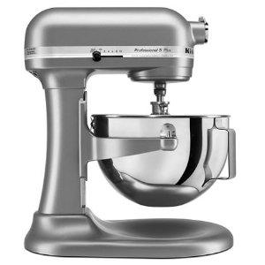 KitchenAidSilver Professional 5™ Plus Series 5 Quart Bowl-Lift Stand Mixer KV25G0XSL | KitchenAid
