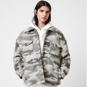 低至3折 收封面款外套AllSaints Outlet 美衣大促 酷女孩必Buy 连衣裙$59 羊毛围巾$68
