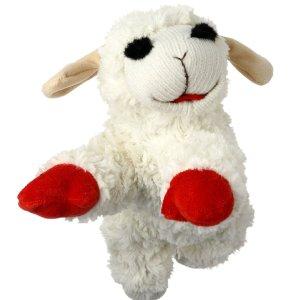 $1.99 销量冠军白菜价:Multipet 小羊造型狗狗玩具