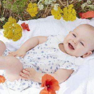 低至5折+额外8折起Petit Bateau 儿童服饰热促 实力打造超萌宝宝