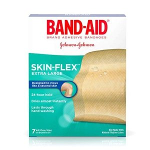 Band-Aid Brand SKIN-FLEX Extra Large Size, 7 ct