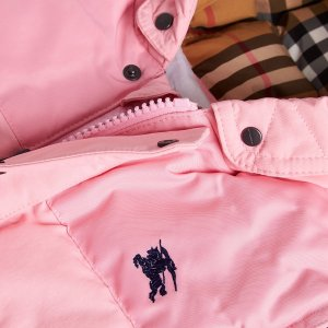 低至6折+额外8折 包邮包退折扣升级:Burberry 秋冬童装热卖,入棉服外套