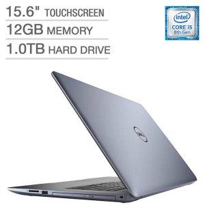 $479.99黒五价:Dell Inspiron 15 5000 触屏笔记本 三色可选 (8代i5 12GB 1TB)