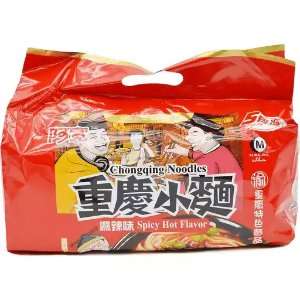 Baijia Chongqing Noodles Spicy Hot Flavor 5 Pk