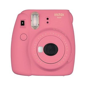 FujifilmInstax Mini 9 Instant Camera - Flamingo Pink