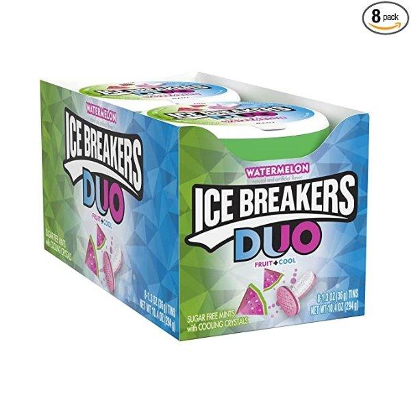 无糖薄荷糖 西瓜口味 8盒装