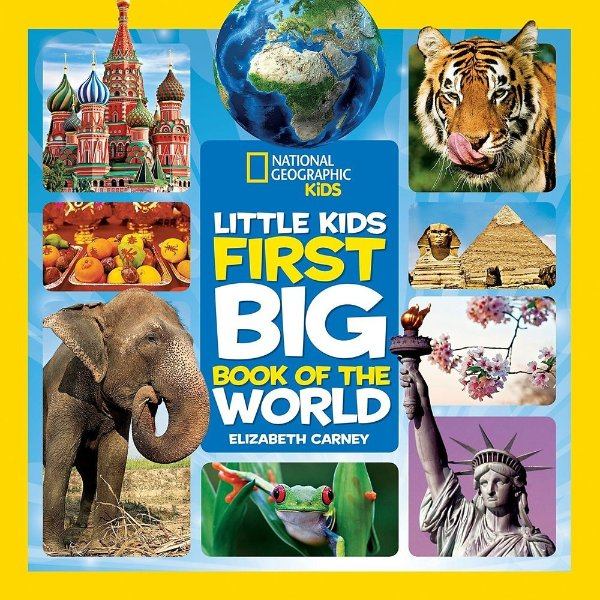 National Geographic Little Kids First Big Book of the World 童书