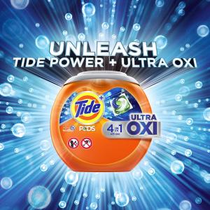 史低价:Tide Pods Ultra 4合1果冻洗衣液球 73块