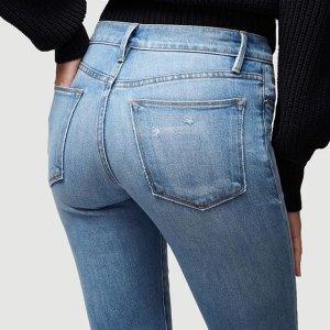 低至3折+额外7.5折 收大幂幂最爱精选女士牛仔裤热卖 明星都在穿的Frame、DL 1961