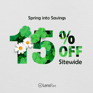 Spring Sale 15% offExtended: Contact Lens Sitewide Sale @ LensPure