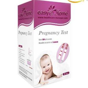 $12.73(原价$17) 备孕必备!Easy@Home 验孕试纸20个