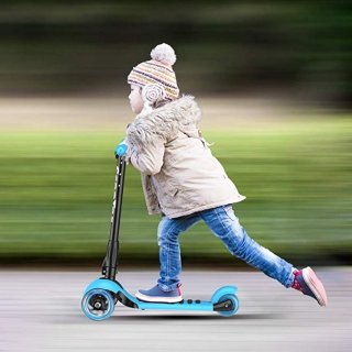 $30.49(原价$59.99)闪购:Banne 三轮高度可调节儿童滑板车,轮子会发光