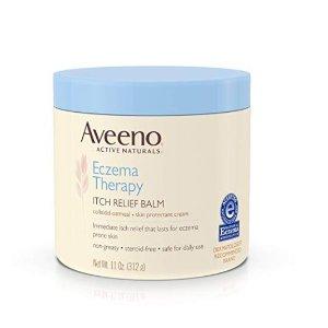 $14.99 近期好价Aveeno 湿疹疗法止痒舒缓润肤霜 312g