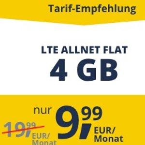 流量欧盟境内通用,每个月可以解约4GB LTE包月上网+包月打电话短信 月租9.99欧
