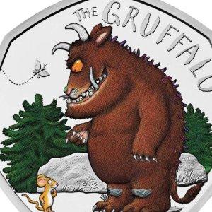 秒秒钟断货 全球限量 火速收藏上新:皇家铸币厂 I Gruffalo 20周年最新版50p纪念币
