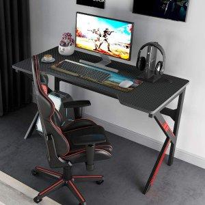 $149(原价$195)闪购:DlandHome 专业游戏电脑桌 47英寸 你与电竞只差一张桌子