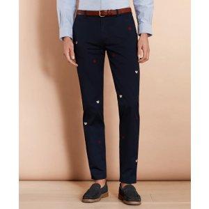 Brooks Brothers买2条享7.5折猪年休闲裤