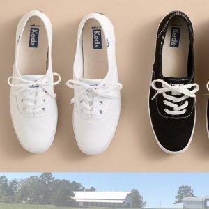 小白鞋£36、老爹鞋£116Keds 帆布鞋网红鼻祖 收简约、百搭小白鞋 春夏超合适