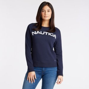 NauticaLogo French Terry Pullover