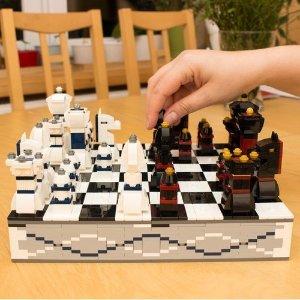 售价€54.99 手慢无!!爆款补货!乐高版国际象棋 40174 真的能玩!还可收纳棋子