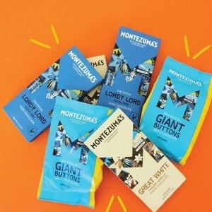 满£20享8折 美味牛奶巧克力£2Montezuma's 英国手工奢侈巧克力 夏季全场热促