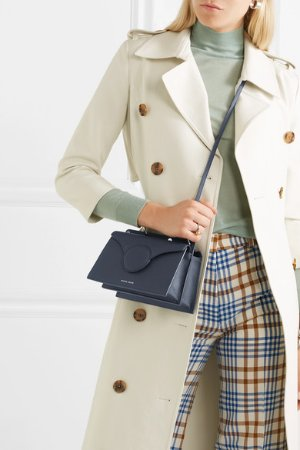 Danse Lente | Phoebe mini textured-leather shoulder bag | NET-A-PORTER.COM
