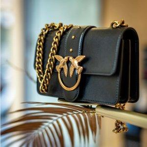 额外7折 mini 燕子包$123Pinko 优雅美包专场热卖 经典love燕子包$142,多色可选