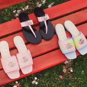 倪妮等明星同款上新:GUCCI 2020春夏新款美鞋专场 马卡龙色系仙女必备超温柔