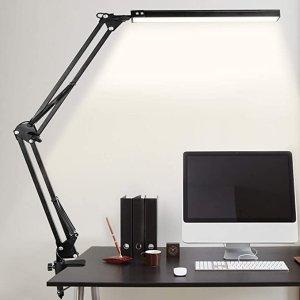 9.5折+7.3折,10种亮度等级LED台灯 带夹子 金属旋转臂